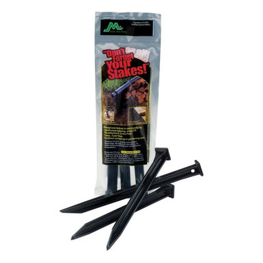 Master Mark Plastics - Master Mark Plastics 10 in. Anchor Stakes - 3 Pack Multicolor - 1432-4016 - Shop for Sheds & Storage - Accessories from Hayneedle.com! Made of durable polypropylene the Master Mark Plastics 10 in. Anchor Stakes - 3 Pack is great to use in all types of landscape edging and are perfect for outdoor or gardening use. Each stake in this pack of 3 measures 10 inches long.About Master Mark PlasticsUse Master Mark Plastics and your yard will thank you in more ways than one. A premier name in lawn and garden and building products throughout the world Master Mark Plastics creates myriad eco friendly products for many types of outdoor use. One of the largest and most experienced recyclers of high density polyethylene plastics in the world Master Mark Plastics takes plastic from milk jugs detergent containers and juice bottles and recycles them for further use in its lawn and garden products and composite decking materials.