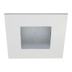 "WAC Lighting - 3"" LEDme Square Shower Trim, Hr-Led371-Wt - 3"" LEDme Square Shower Trim"
