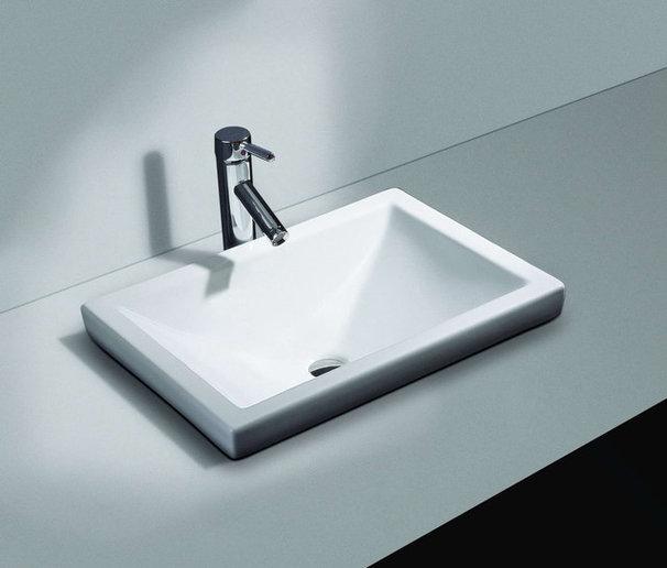 Contemporary Bathroom Sinks by Quality Bath