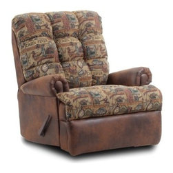 Chelsea Home Furniture Cabin Fever Oversized Recliner - About Chelsea Home FurnitureProviding home elegance in upholstery products such as recliners, stationary upholstery, leather, and accent furniture including chairs, chaises, and benches is the most important part of Chelsea Home Furniture's operations. Bringing high quality, classic and traditional designs that remain fresh for generations to customers' homes is no burden, but a love for hospitality and home beauty. The majority of Chelsea Home Furniture's products are made in the USA, while all are sought after throughout the industry and will remain a staple in home furnishings.