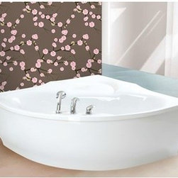 "Aquatica - Aquatica PureScape 314 Corner Acrylic Bathtub - White - Treat yourself and soak in peaceful tranquility with Aquatica's stylish and ergonomic PureScape 314 freestanding bathtub. Aquatica challenges everything we thought we knew about a bathtub with the world-class modern design and ergonomic features that are incorporated into all of their luxury tubs. Aquatica Purescape bathtubs are as pleasing to the eye as they are to soak in. Their striking visual appeal adds a mesmerizing modern elegance to any bathroom. From the finest selection of raw materials all the way to the high-class design, Aquatica has spared no expense to innovate and create some of the highest quality bathtubs in the world.FEATURES:Striking upscale modern designFreestanding constructionSolid, one-piece construction for safety and durabilityExtra deep, full-body soakErgonomic design forms to the body's shape for ultimate comfortQuick and easy installationConstructed of 8mm thick 100% heavy gauge sanitary grade precision acrylicPremium acrylic and tub thickness provides for excellent heat retentionHigh gloss white surfaceColor is consistent throughout its thickness - not painted onColor will not fade or lose its brilliance overtimePreinstalled cable drive pop up and waste-overflow fitting includedDesigned for one or two person bathingNon-porous surface for easy cleaning and sanitizingBuilt-in metal base frame and adjustable height metal legsChrome plated drain5 Year Limited WarrantyCode compliant with American standard 1.5"" waste outletsSPECIFICATIONS:Overall Dimensions: 59 in. L X 59 in. W X 22.75 in. HDepth to Overflow Drain: See Spec SheetInterior Depth: 18.25 in.Interior Length (Top): 66.5 in.Interior Width (Top): 32.75 in.Interior Length (Bottom): See Spec SheetInterior Width (Bottom): 21.75 in.Weight: 140 lbsCapacity: See Spec SheetShape: CornerDrain Placement: CenterSpec SheetNote: This model usually ships in 1-2 days. Please allow an additional 2-3 business days for order transmittal and verification."