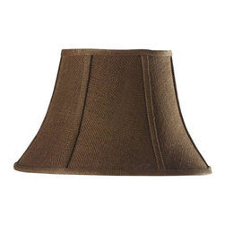 Home Decorators Collection - Home Decorators Collection Lamp Shades Bell Small 14 in. Diameter Dark Natural - Shop for Lighting & Ceiling Fans at The Home Depot. Your accent lighting will never be the same with the addition of our Bell Burlap Lamp Shade. Pick the size and color that suit your decor and enliven any space with style and texture. Order yours today.