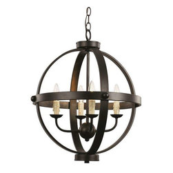 Trans Globe Lighting - Trans Globe Lighting 70594 ROB Pendant Light In Rubbed Oil Bronze - Part Number: 70594 ROB