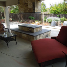 Traditional Patio by Laura Frost Design