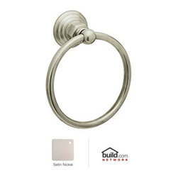 "Rohl - Rohl ROT4STN Satin Nickel Country Bath Country Bath 6"" Towel Ring - Country Bath 6"" Towel RingThe Rohl Country Bath collection matches a relaxed country lifestyle with refined Italian elegance. Inspired by the scenic regions of northern Italy, the Rohl Country Bath collection is also crafted there. This collection is the ideal combination of form and function. Look for a number of different variations within the Rohl Country Bath collection, with popular families like Verona, Alessandria, Hex, and Viaggio. Give your kitchen and bathroom an amazingly stylish update and upgrade with Rohl's Country Bath collection.Rohl ROT4 Features:Metal die cast construction - weight: 1 lb.Superior finishing process – chemical, scratch, and stain resistantTowel ring length: 6-1/4""Towel ring height: 6-1/4""Extra secure mounting assemblyEasy to clean and installAll mounting hardware includedFully covered under Rohl's limited lifetime warrantyManufactured in New Zealand, Western Europe, and/or North AmericaAbout Rohl:Excellence, durability, and beauty. Family values, integrity, and innovation. These are all terms which aptly describe Rohl and its remarkable selection of kitchen and bathroom faucets and fixtures. Since 1983, Rohl has maintained a commitment to providing high-quality plumbing products for residential and commercial applications, while assuring these fixtures would make a difference in the overall décor in the living space. With a dedication to excellence throughout the home, Rohl has been satisfying homes, schools, hospitality venues, and restaurants all around the world. Rohl specializes in providing timeless designs for every type of theme, including traditional, transitional, and modern. When Rohl suggests its products reflect the feel of a certain area outside the United States, it's more than just that. Rohl products are authentically crafted in towns in New Zealand, Western Europe, and North America ."