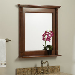 Trevett Vanity Mirror - A great selection for a bathroom, the Trevett Vanity Mirror displays quality construction and timeless accents.