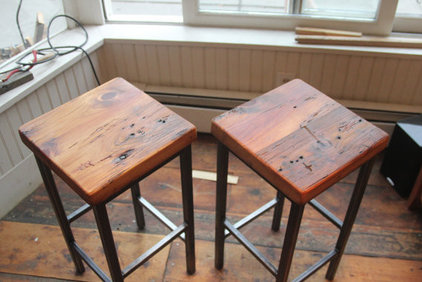 eclectic bar stools and counter stools by Etsy