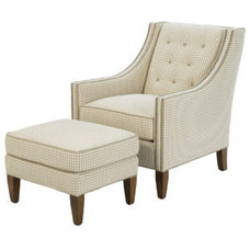 Traditional Armchairs by wesleyhall.com