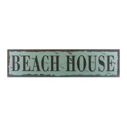 """Handcrafted Model Ships - Wooden Beach House Beach Life Sign 24"""" Coastal Living Wood Beach Signs - New - Immerse yourself in the warm ambiance of the beach, imagining golden sands between your toes as you listen to the gentle sound of the surf, while you enjoy our fabulous beach signs. Perfect for welcoming friends and family, or to advertise a festive party at your beach house, bar, or restaurant, this Wooden Beach House Beach Life Sign 24"""" sign will brighten your life. Place this beach sign up wherever you may choose, and enjoy its wonderful style and the delightful beach atmosphere it brings."""