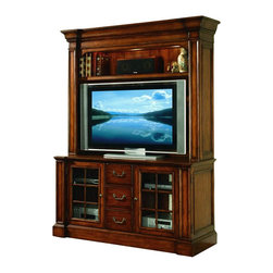Hooker Furniture - Hooker Furniture Waverly Place Entertainment Console with Hutch - Hooker Furniture - TV Stands - 36655480580KIT - About This Product: