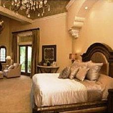Mediterranean Bedroom by Renderings and Interiors