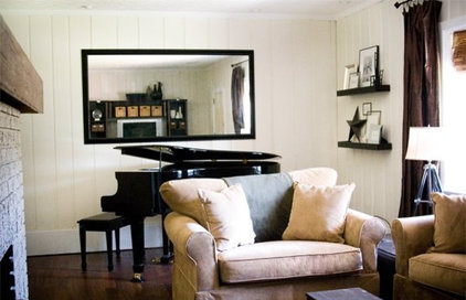 traditional living room by The Lettered Cottage