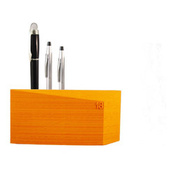 18newYork - ArchiPen - ArchiPen is an Architectural design of a PenHolder. It uses the last ecofriendly technology of manufacturing. Indeed, ArchiPen is 3D printed.