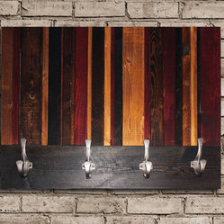 Vertical Stained Coat Hook