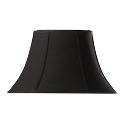 Home Decorators Collection - Home Decorators Collection Bell Small 14 in. Diameter Black Linen Shade 13356002 - Shop for Lighting & Fans at The Home Depot. Bring an air of subtle elegance to your home with our Bell Linen Lamp Shade. The classic bell shape and matte finish, available in your choice of several stylish looks, will dress up any lamp. Order yours today.
