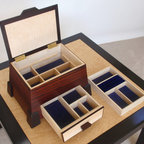 Personalized Rosewood Jewelry Boxes -