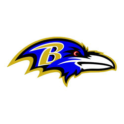 Brewster Home Fashions - NFL Baltimore Ravens Teammate Logo Wall Sticker Decal - FEATURES: