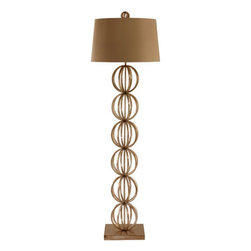 Arteriors - Arteriors Home - Millenium Iron Floor Lamp - 78574-752 - Arteriors Home - Millenium Iron Floor Lamp - 78574-752 Features: Millenium Collection Floor LampIron FinishSteel Material lamp bodyCotton lining Shade materialA - E26 Socket type3-Way rotary Switch type. At socket Switch location2-Prong and polarized Plug typeHand crafted. UL and CUL list2.75'' Finial1.5'' Base10'' Harp size. Accommodates 100W max A15 Incandescent bulbs not included. Wired for 110V - 120 Some Assembly Required. Dimensions: Overall : 18'' W x 60'' HShade :16'' - 18'' W x 11'' H