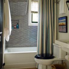 Beach Style Bathroom by Thom Filicia Inc.