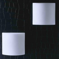 "Carpyen | Tango - Keops Ceiling or Wall Light -  Product description:  The Keops ceiling/wall light by Carpyen was designed by Daifuku in 2008.  The Keops ceiling/wall light with its sleek contemporary lines is made of a triplex opaline glass and is perfect for spaces that need a light that only projects from a wall or ceiling 3.5 inches.  The Keops Light uses 1 X 13w max compact fluorescent bulb making it an energy efficient light.    Details:                                Manufacturer:              Carpyen                                              Designer:                            Daifuku Designs                                                Made in:                            Spain                                                Dimensions:                            Height: 3.5"" (9 cm) X Width: 10.6""  (27 cm)                                                Light bulb::                            1 X 13w  Max Compact Fluorscent                                                Material:                                                                                              metallic, opal glass"