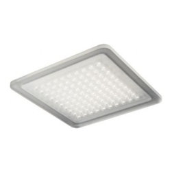 """Nimbus - Nimbus Modul Q 100 Aqua recessed light - The Modul Q 100 Aqua recessed light was designed and made by Nimbus. This ultra flat LED ceiling fixture comes in direct mounting version or with mounting bracket for cavity. This elegant fixture features a sleek, durable acrylic glass design with steel mounting and provides 98% direct wide beam. It is suitable for outdoor use or for damp rooms as this version is a spray water resistent version. Available with 21 build in Power LEDs. IP 20. Driver not included - please order separately.         Product Details: The Modul Q 100 Aqua recessed light  was designed and made by Nimbus. This ultra flat LED ceiling fixture comes in direct mounting version or with mounting bracket for cavity. This elegant fixture features a sleek, durable acrylic glass design with steel mounting and provides 98% direct wide beam. It is suitable for outdoor use or for damp rooms as this version is a spray water resistent version. Available with 21 build in Power LEDs. IP 20. Driver not included - please order separately. Details:                         Manufacturer:            NIMBUS                            Designer:            Nimbus                            Made in:            Germany                            Dimensions:                        Width: 11""""(280mm) X Depth: 0.4""""(10mm)             Brackets Height: 3.3""""(84mm)                                         Light bulb:                        1x21W build-in LED 3000K warm white                                         Material:            Glass, Steel"""