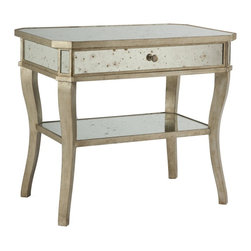 Aidan Gray - Aidan Gray Distressed Mirror Side Table - Distressed Mirror Side Table from Aidan Gray.*Aidan Gray's products are made by hand and with authentic materials.