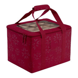 Classic Accessories - Classic Accessories Seasons Ornament Bag - Cranberry Multicolor - 57-005-014301- - Shop for Storage and Organizers from Hayneedle.com! Keep all those treasured holiday ornaments safe and easy to use with the Ornament Bag Cranberry. This handy bag looks great and keeps your ornaments organized and ready to hang or store. Its soft fabric construction features a collapsible wire frame so it s easy to store when the season rings in. Individual compartments and generous handles make it easy to get your ornaments in and out of storage while a clear top window lets you get a peek inside.About Classic AccessoriesFounded from small beginnings Classic Accessories has grown in the past 30 years from a small basement operation in Seattle s Roosevelt neighborhood making seatbelt pads and steering wheel covers to a successful and expanding company now making a wide variety of products from car to boat covers and much more. Innovative stylish designs define products that are functional and made to last. From little details to the largest innovations Classic Accessories is always moving forward and looking to provide cover and storage solutions to a clientele that has a passion for the outdoors from backyard gatherings to exciting camping trips Classic Accessories provides the products that keeps your equipment looking great all season long.