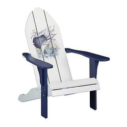 Panama Jack Sailfish Adirondack Chair with Blue Finish