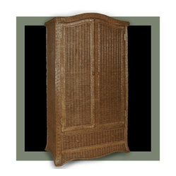 Roma Wicker Wardrobe