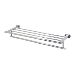 Vigo Industries - 24 in. Rack and Towel Bar - Includes easy mount template