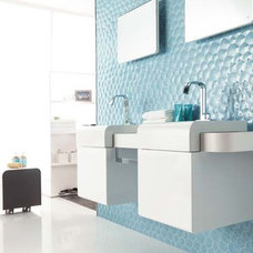 contemporary bathroom tile by CheaperFloors