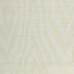 KAS - KAS Loft 2059 Grains (Ivory) 8' x 10' Rug - Discover life simplified in our Loft Collection. Versatile to fit any home decor, this collection is hand-tufted in India of 100% quality wool. These simple transitional designs are woven using multi-textured wool, a trendy color palette and a Hi/Lo effect, bringing modern simplicity into our lives. The simplicity of designs and a variety of textures will create an everlasting presence in any room while setting the foundation for any decorating style. No fringe.