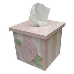 Wish Upon A Star - Rose Tissue Box Cover - Rose Tissue Box Cover