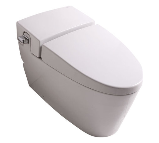 EAGO - EAGO TB340 White One Piece Ultra Low Single Flush Eco-Friendly Ceramic Toilet - We are very excited to offer you this EAGO TB340 top of the line brand of eco-friendly low consumption modern smart toilets. Join the latest fashion trend with EAGO's innovative line of green products.