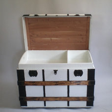 Contemporary Decorative Trunks by Green Zebre Vintage Home