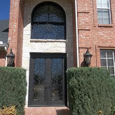 Front Doors by Elegante Iron, Inc.
