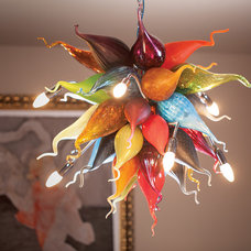 Contemporary Chandeliers by Mdina Glass
