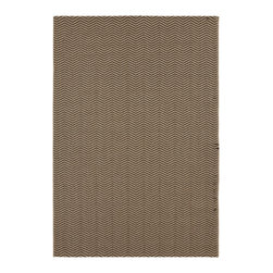 "Surya - Surya Elements ELT-1012 (Camel, Caviar) 5'3"" x 7'6"" Rug - Surya's Elements Collection reflects the new trends in indoor/outdoor home decor. Featuring a subtle neutral color palette and simple design, these rugs are suitable for any outdoor setting. The modern and sophisticated patterns of Elements will bring a desired look to any room. Made in Belgium, machine woven of 100% Polypropylene, the rugs display a look and hand of sisal that will complete the decor of any indoor/outdoor space."