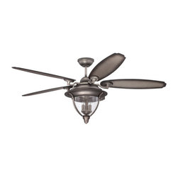 "Ellington Fans - Ellington Fans Kingsbridge 5 Blade 56"" Ceiling Fan with Blades and Light Kit Inc - Features:"