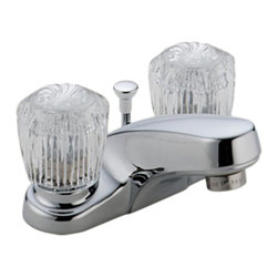 Delta - Delta 2522LF-MPU Classic Two Handle Centerset Lavatory Faucet (Chrome) - Delta 2522LF-MPU Classic Collection is designed to complement any homes design style  with simple and sensible style. The Delta 2522LF-MPU is a two handle Lavatory Faucet in Chrome.