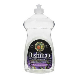 Earth Friendly Dishmate - Lavender - 25 Oz - Case Of 6 - A Liquid Dishwashing Cleaner