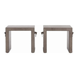 Equus Benches, Set of 2