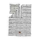 Bedding Set, Single, Half Moon, Black/White - I love this bedding set. It's bold in a playful way, and would work for a boy or girl for years without feeling dated.