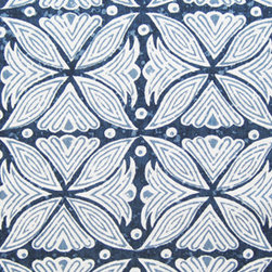 Martyn Lawrence-Bullard Design Kaba Kaba Fabric - This beautiful fabric will blend in well with a range of patterns, especially ikats. A true work of art; I would take a big piece, frame it, and hang it on the wall.