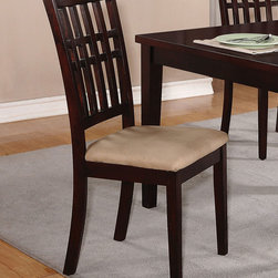 Coaster - 103342 Dining Chair, Set of 2 - 103342 Dining Chair, Set of 2