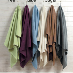 None - IBENA Pure Cotton King-size Blanket - This cotton king-size blanket is made with a low pile that wicks moisture away and helps to conserve body heat so you stay warm year-round. The blanket features a soft material washed with a unique process designed to prevent color fading.