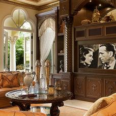 Traditional Living Room by Perla Lichi Design