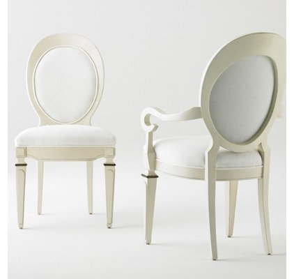 Traditional Dining Chairs by Bunny Williams