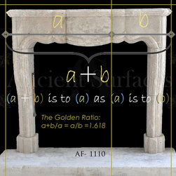 The Golden Ratio and our Architectural Element - Golden Ratio Hand Carved Stone Elements  by Ancient Surfaces.
