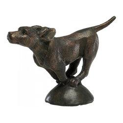 "Joshua Marshal - Byzantine Oxide 4.75"" Running Dog - Byzantine Oxide 4.75"" Running Dog"